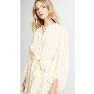 NWT Joie Beatrissa  Blouson-Sleeve Shirtdress